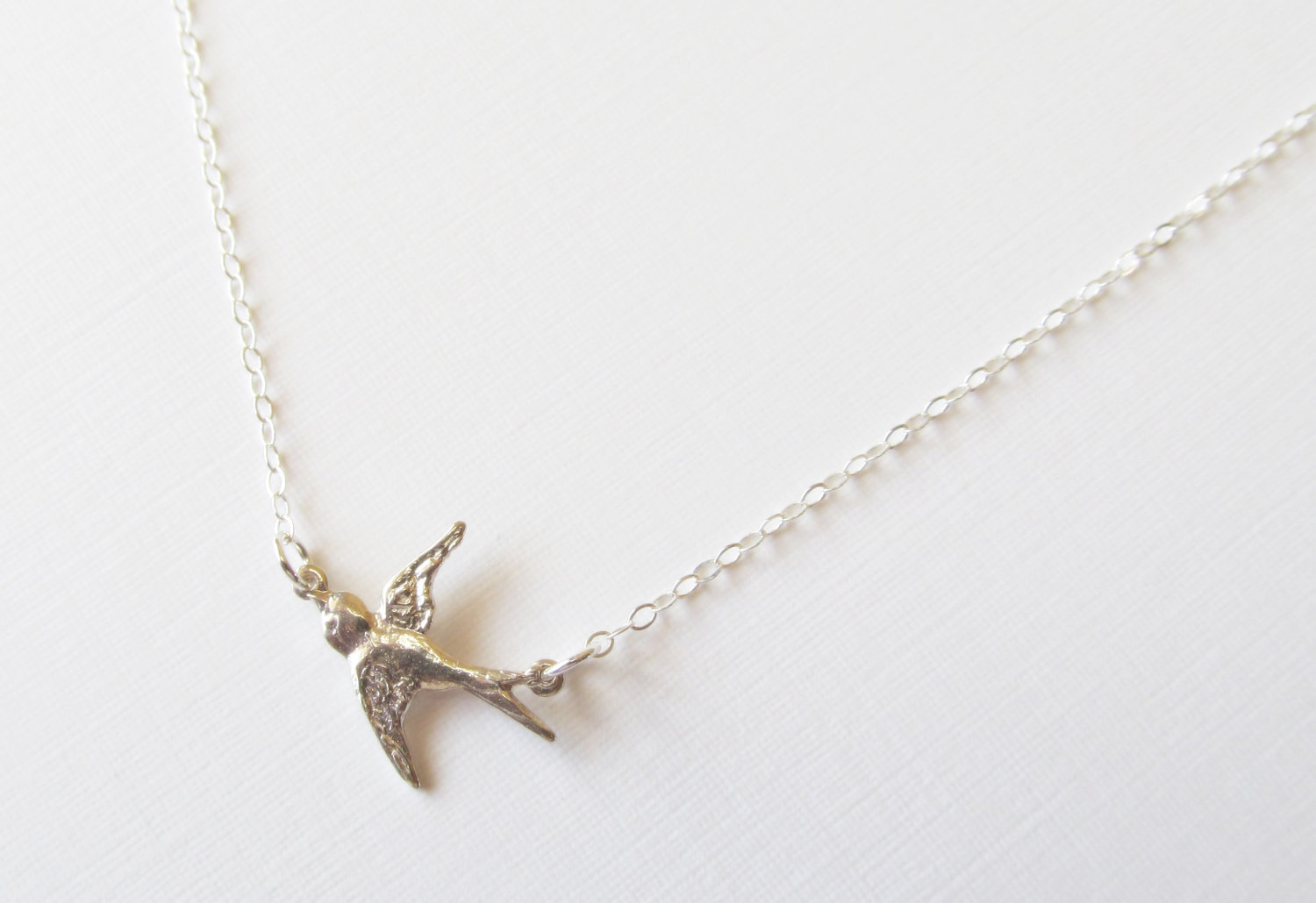 sterling silver bird necklace sterling silver necklace